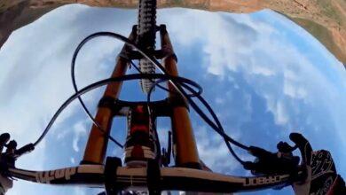 Photo of Video: Tom van Steenbergen's World Record Longest Mountain Bike Front Flip