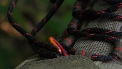 Photo of Video: How to Start a Fire with Your Shoe or Boot