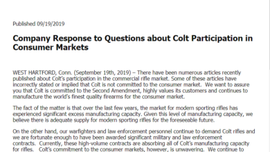 "Photo of Colt says, ""Consumer demand isn't there…"""