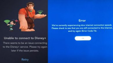 Photo of Is Disney+ down? Unable to connect to Disney Plus?
